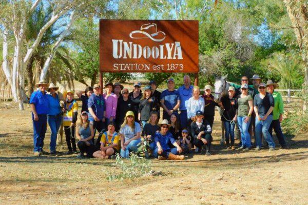 Kids Camp Under Undoolya sign